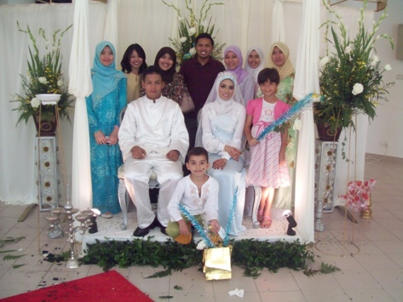 zuliana brother's wedding @ wangsa maju