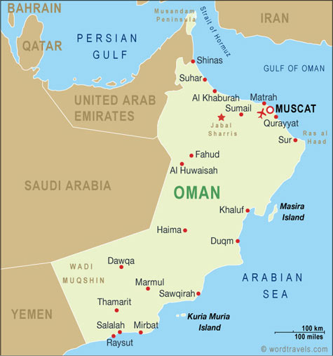 oman's in the arabs land