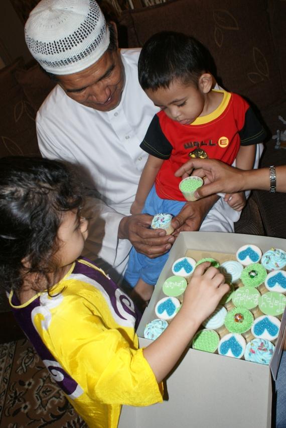 yaya, ayah and izwan
